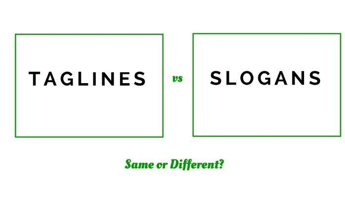 Khác nhau giữa Tagline và Slogan
