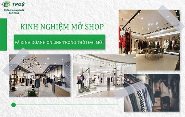 Kinh nghiệm mở shop quần áo và xu hướng kinh doanh thời trang online