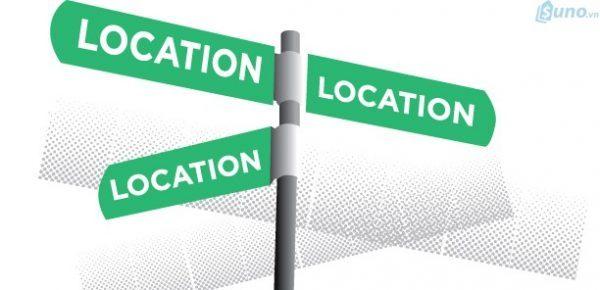 Địa điểm kinh doanh ảnh hưởng rất lớn đến sự thành công của một doanh nghiệp
