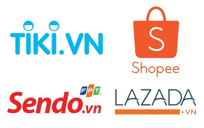 So sánh các sàn Lazada, Shopee Tiki, Sendo dưới góc độ chủ gian hàng