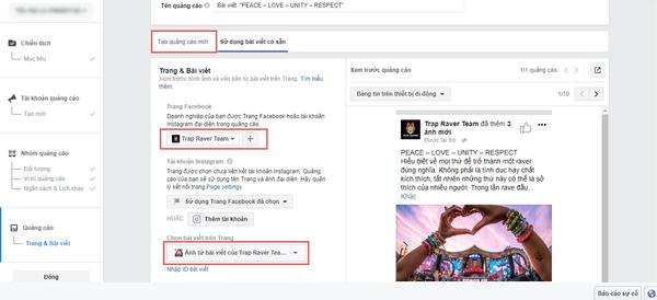 cách chạy quảng cáo trên facebook
