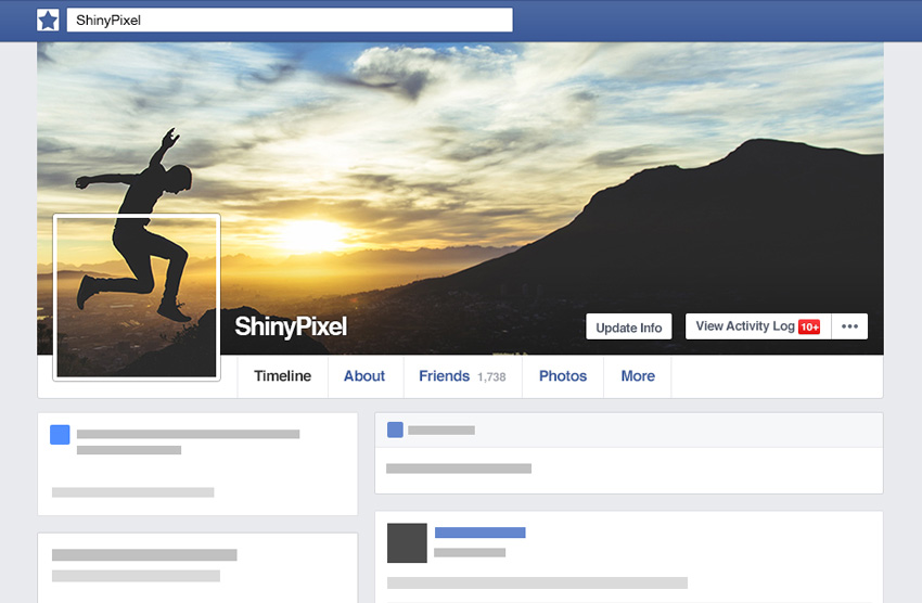 How to Create a Seamless Facebook Cover and Profile Picture in Adobe  Photoshop