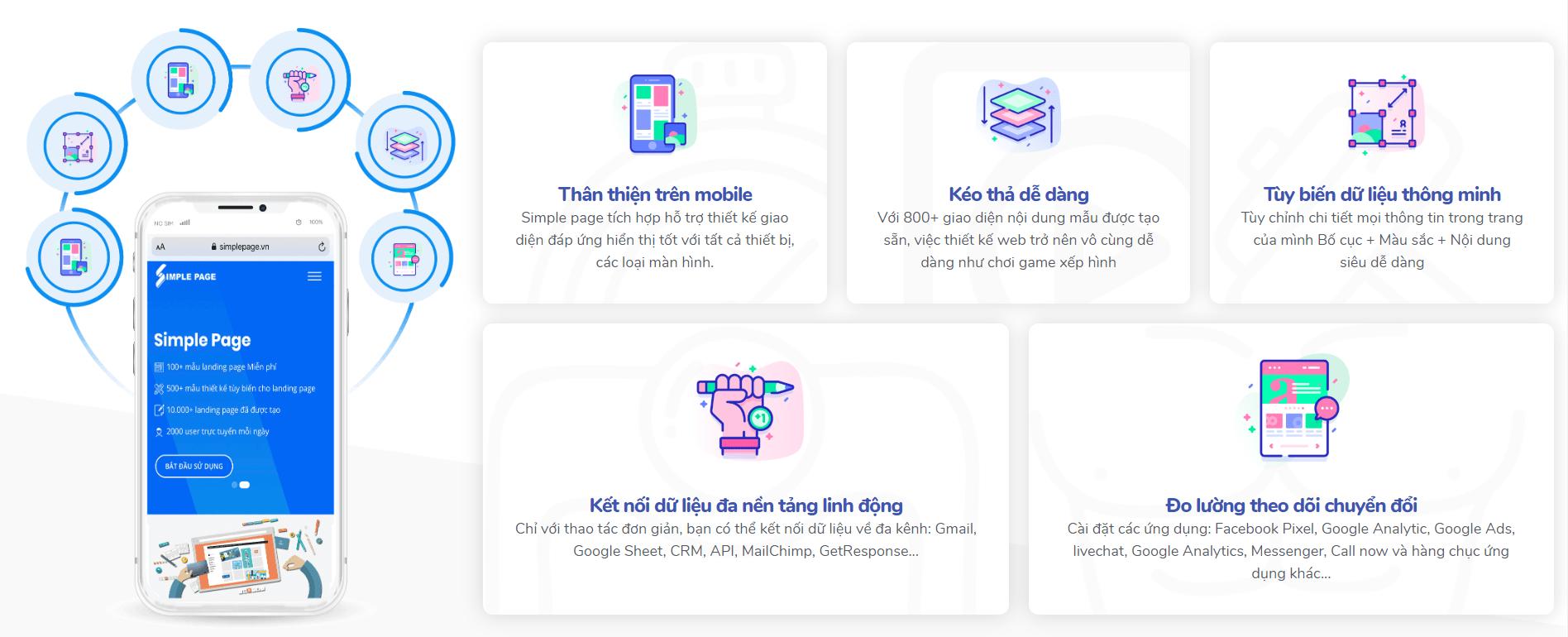 Simple Page là gì? Nền tảng thiết kế landing page miễn phí có gì thu hút?