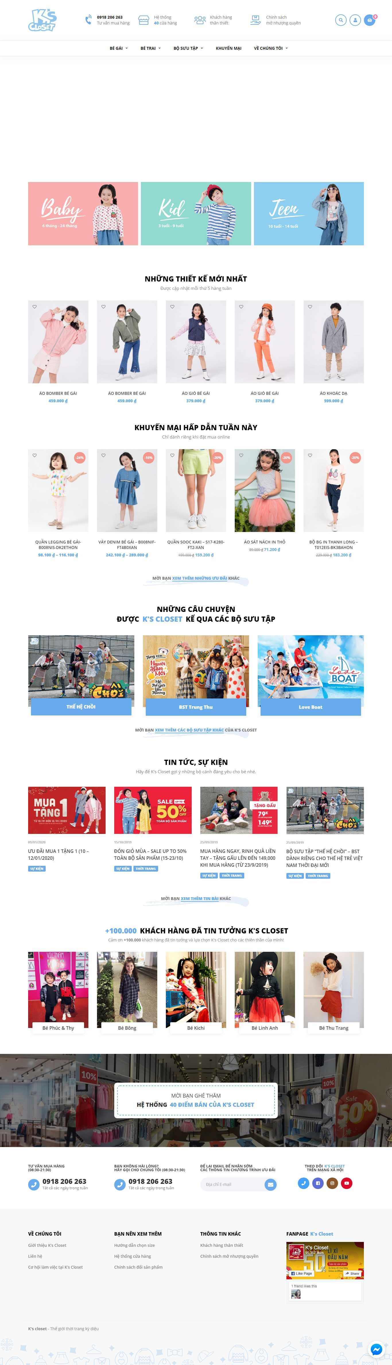 Thiết Kế Landing Page shop thời trang