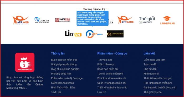 Logo xuất hiện trên Desktop