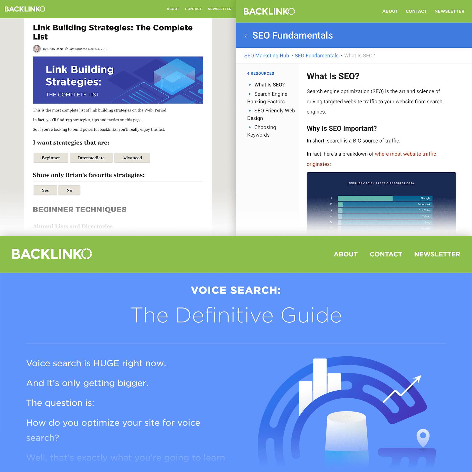 SEO content - Backlinko
