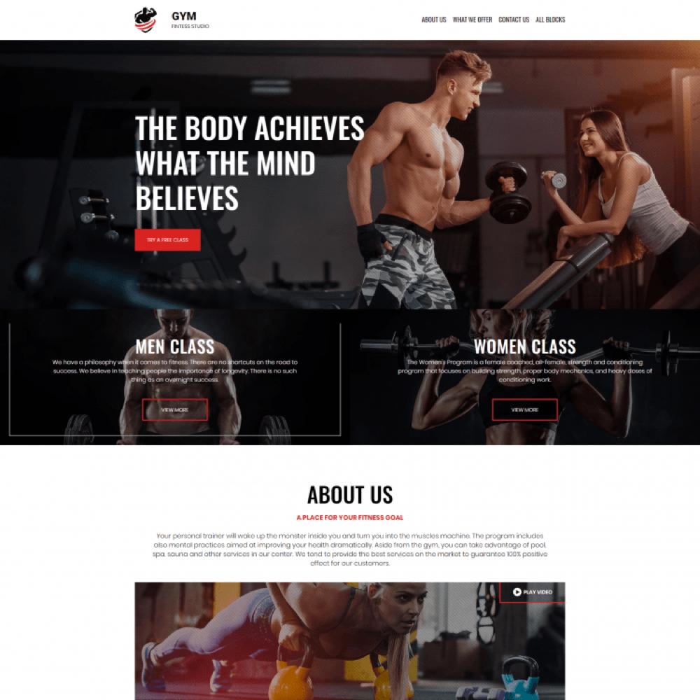 Dịch vụ thiết kế website phòng tập gym, yoga tại Đà Nẵng chuyên nghiệp  chuẩn SEO