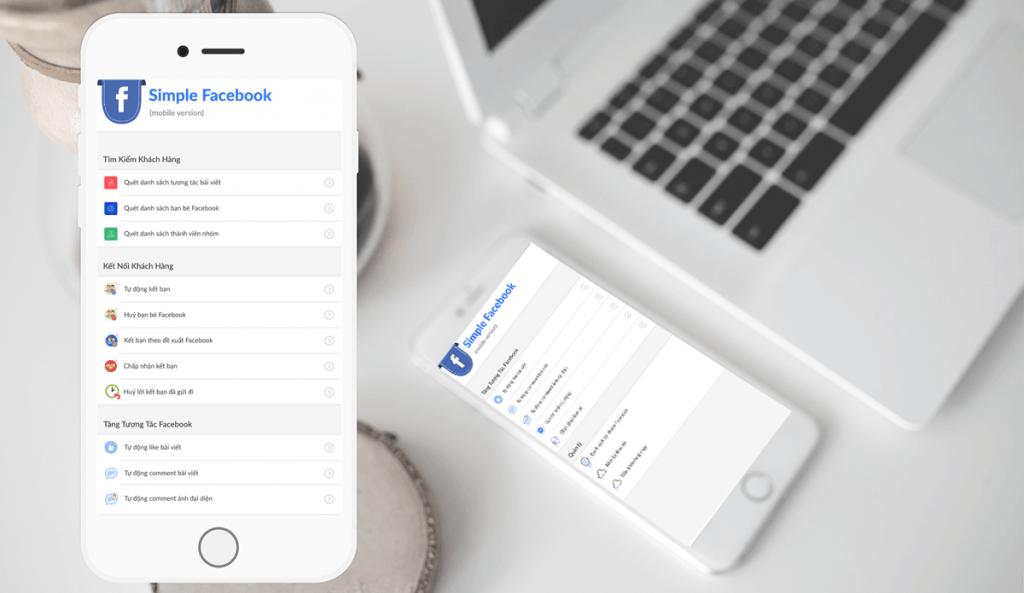 Simple Facebook Mobile