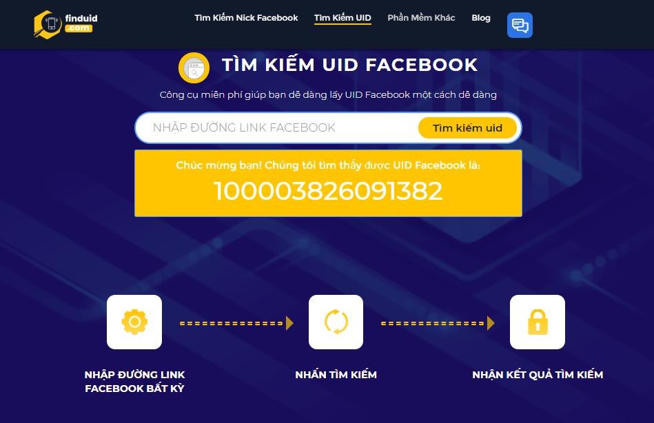 Cách quét UID Facebook Miễn phí với Simple UID