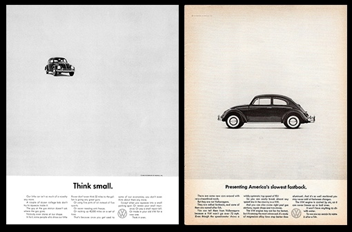 chiến dịch marketing think small Volkswagen