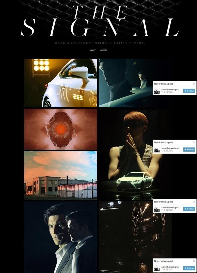 lexus - Những thương hiệu truyền thông hiệu quả trên mạng xã hội Tumblr là gì?