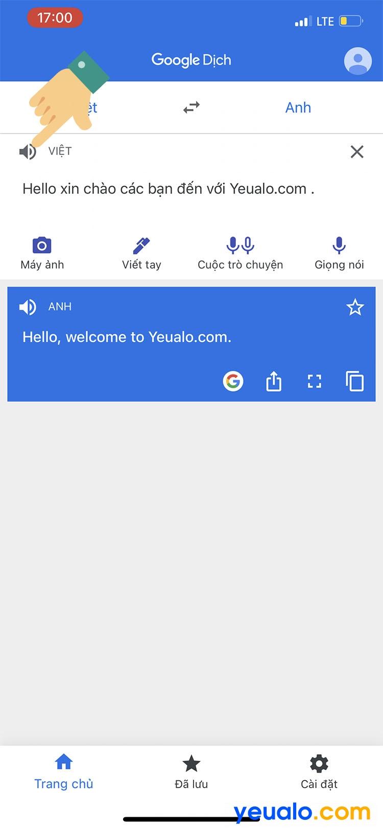 Cách ghép giọng chị Google vào video TikTok trên iPhone 3