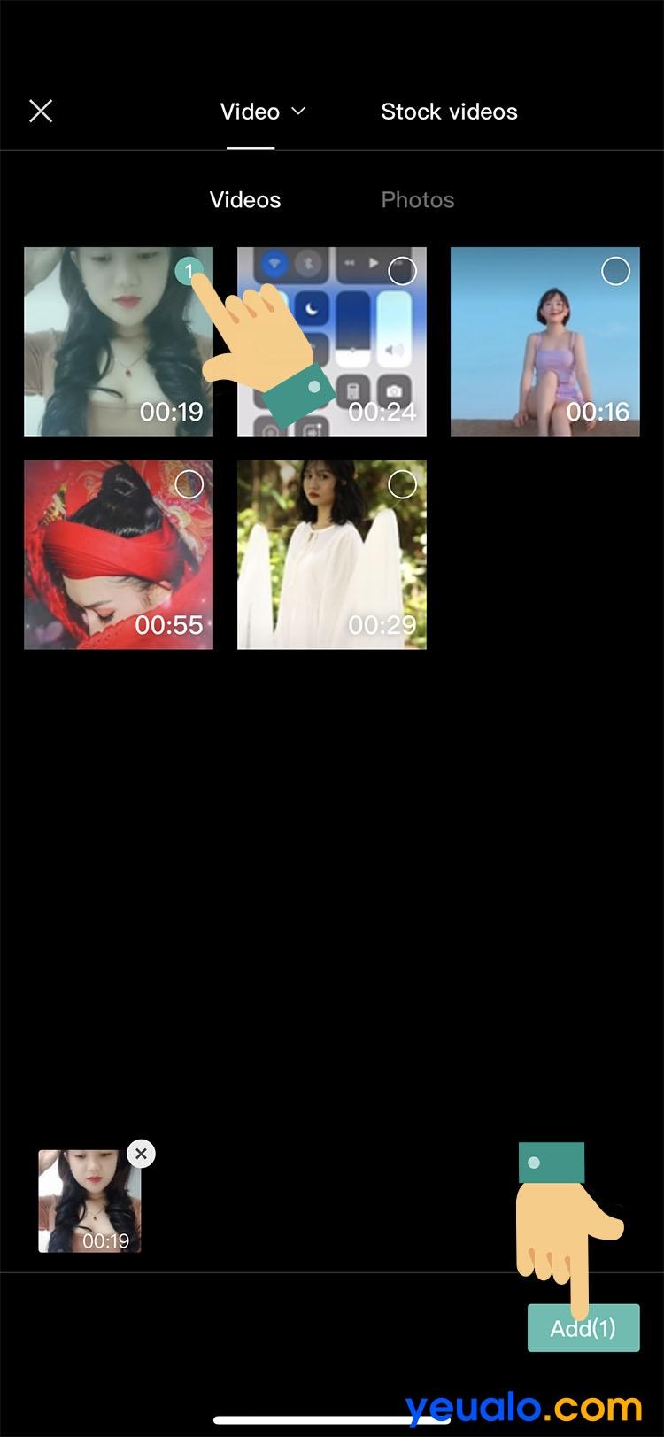 Cách ghép giọng chị Google vào video TikTok trên iPhone 7