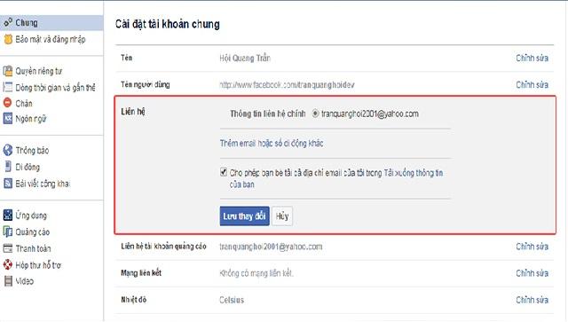 Cách lấy lại mật khẩu Facebook bằng mật khẩu cũ