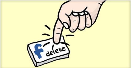 Cân nhắc thật kĩ xem bạn có thực sự muốn xoá tài khoàn Facebook không nhé!