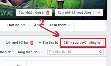 Cách ẩn danh sách bạn bè trên Facebook