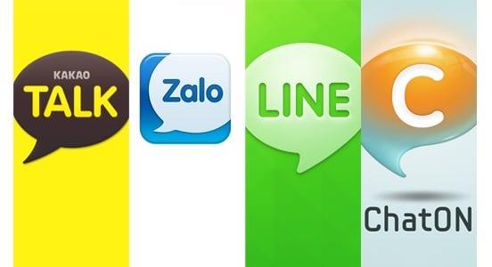 Zalo khẳng định chỗ đứng của mình trước cáckênh mạng xã hộikhác (Ảnh: thegioididong)