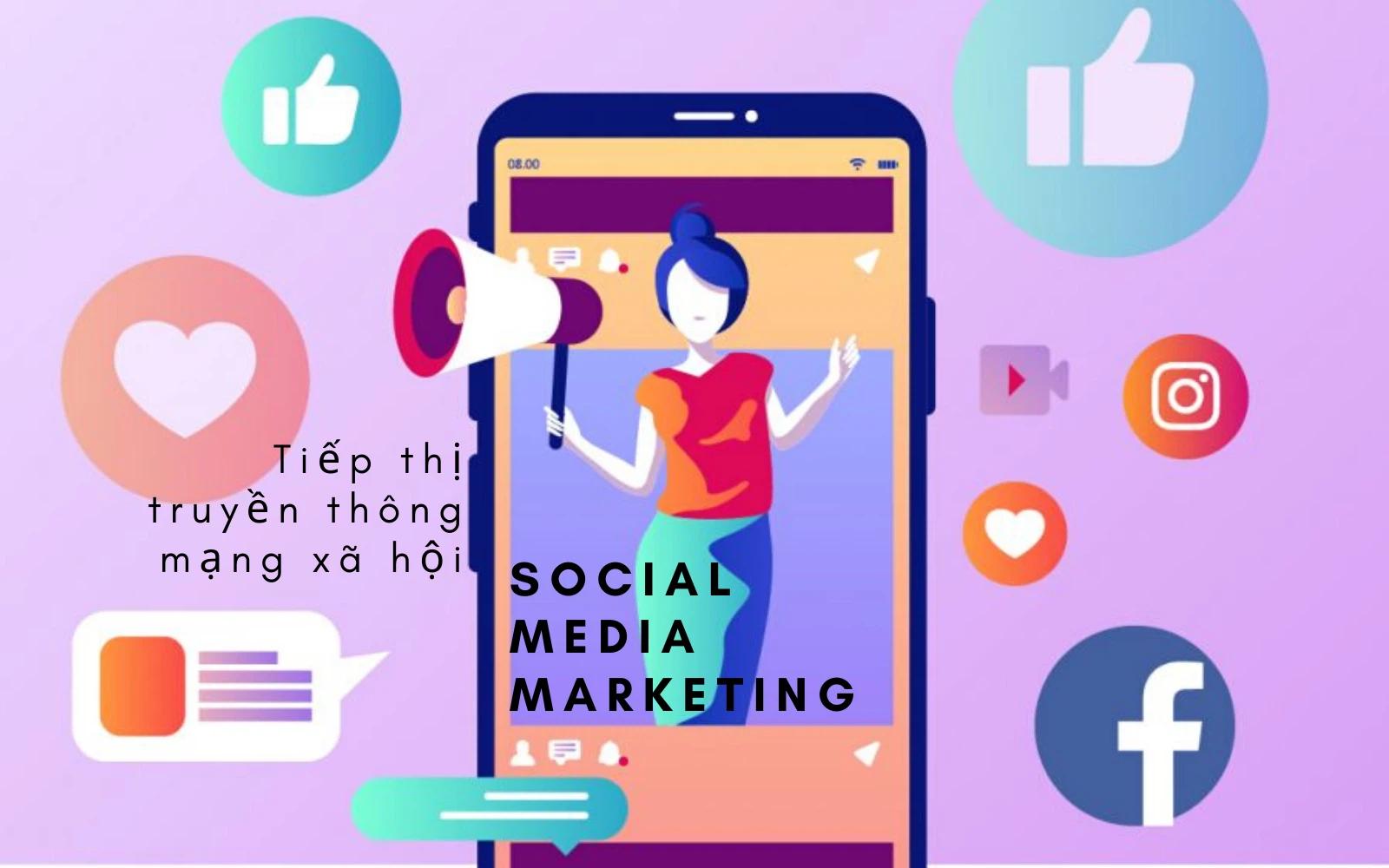 Social Media như một bức tranh về mặt hàng của tổ chức, giúp công ty sống động trong mắt người sử dụng và những người có khả năng mua hàng.