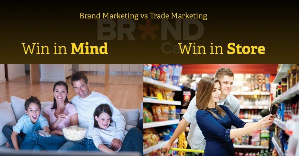 Sựkhác nhaugiữa Brand Marketing và Trade Marketing là gì (Ảnh: Internet)