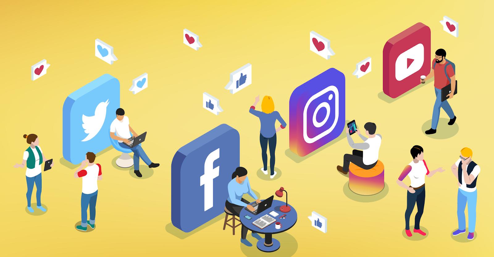 Áp dụng Social Media vào marketing